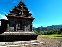 Arjuna Temple in Indonesia, Asia