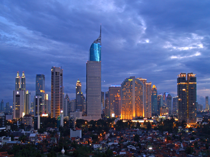 The World S 10th Largest City Jakarta Indonesia Travel