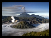 National Parks in Java Indonesia