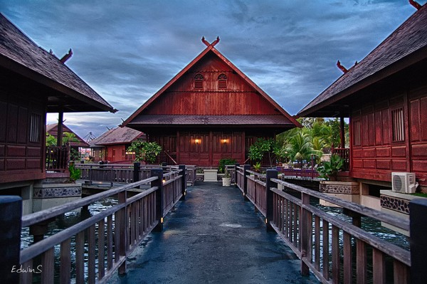 Cottages in Makassar, capital of South Sulawesi