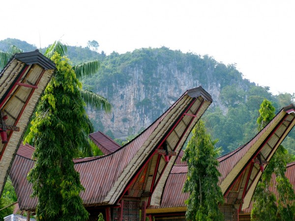 Tana Toraja in South Sulawesi