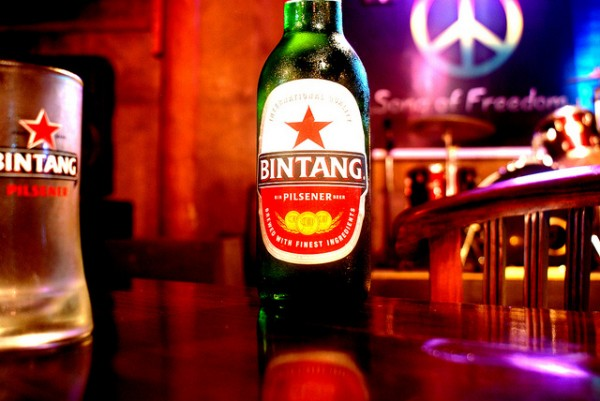 The Bintang beer in Bali