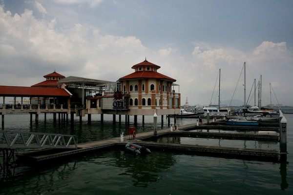 The harbor of Tanjung Pinang