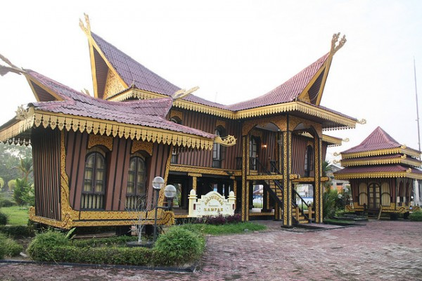 Traditional house in Riau