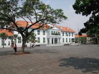 Fatahillah Square and Museum in Jakarta