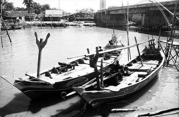 Fishing boats in Cirebon