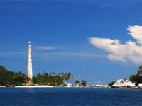 Lighthouse of the Lengkuas Island