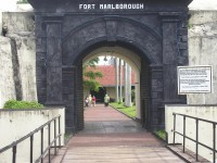 Marlborough Fort in Bengkulu