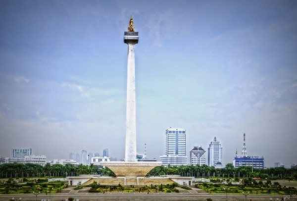 Monas National Monument in Jakarta
