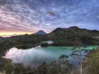 The Dieng Plateau in Central Java