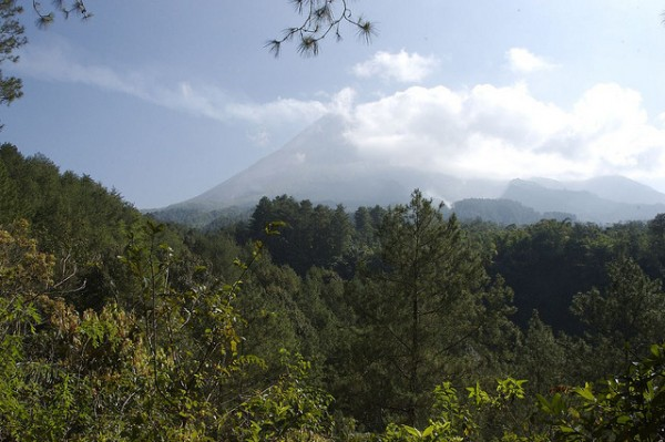 The Merapi Mountain