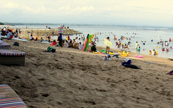 Sanur Tourism Beach Resort in Bali