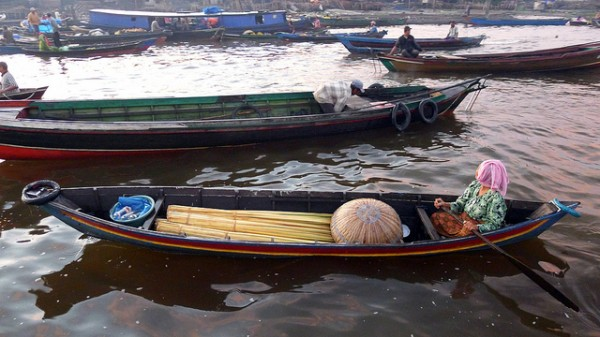 Boats in West Kalimantan