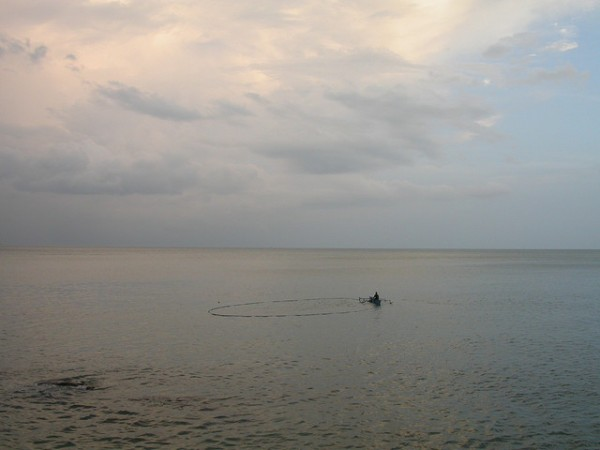 Fisherman in Gorontalo