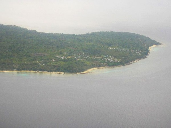 Aerial view of Manokwari