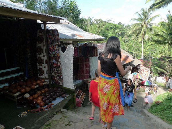 Handicraft stores in Ubud
