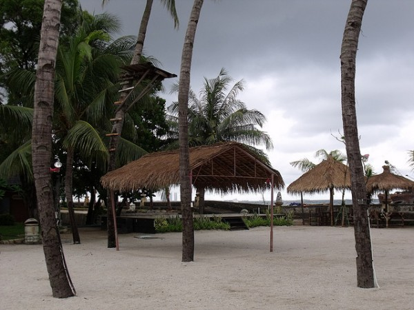 Resort on the Pasir Putih beach
