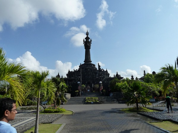 The Bajra Sandhi Monument in Denpasar