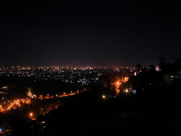 Bandung at night