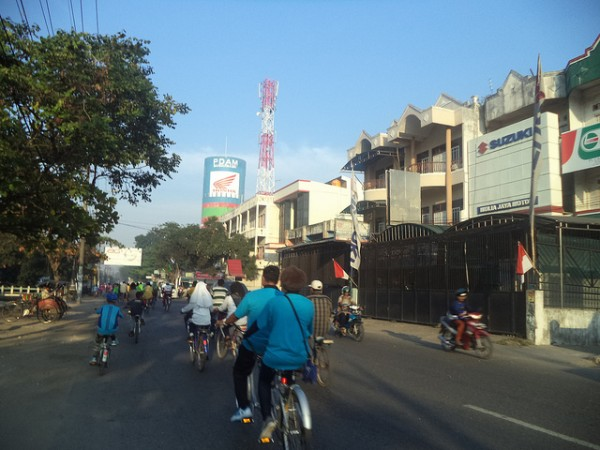 Bycicles in Bandjarmasin