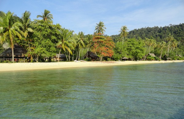 Beach of Sumatra