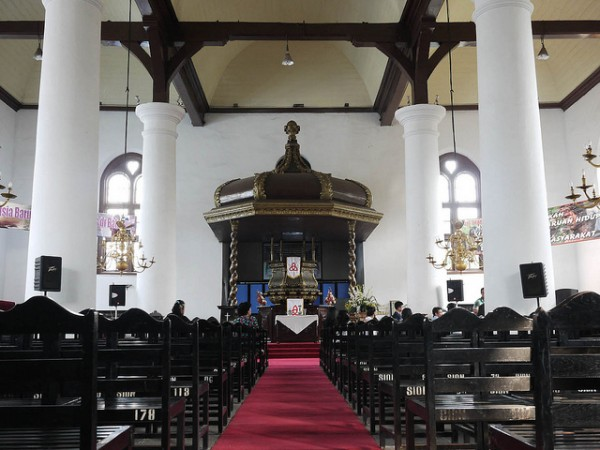 The Gereja Zion Church in Jakarta